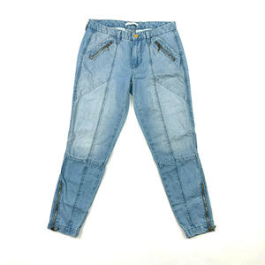 7 For All Mankind 7FAM Zip Ankle Chino Jean 24
